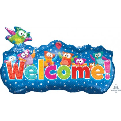 P30 LRG SHPI TREND WELCOME BANNER