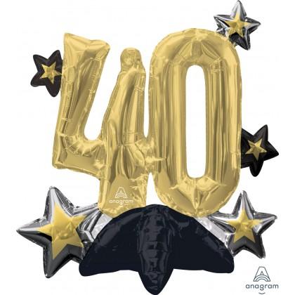 Celebrate 40 Multi-Balloon