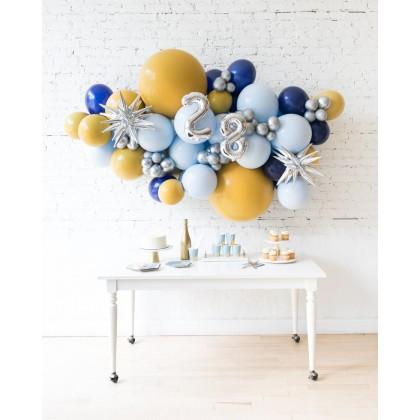 DisneyWorld - Number Backdrop Balloon Garland Install Piece