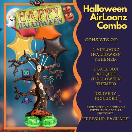 Halloween Airloonz Combo