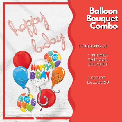 Balloon Bouquet Combo