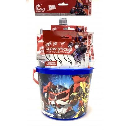 Transformer Gift Bucket