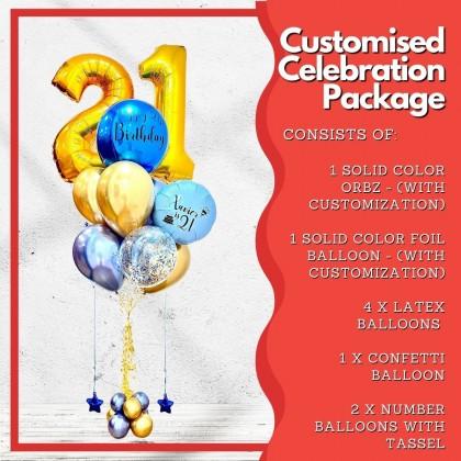 Customised Celebration Package!