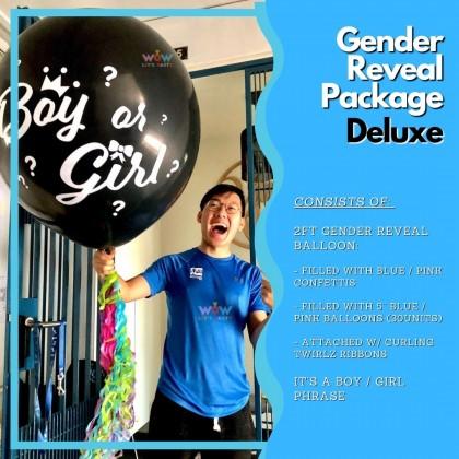 Gender Reveal Package - Deluxe