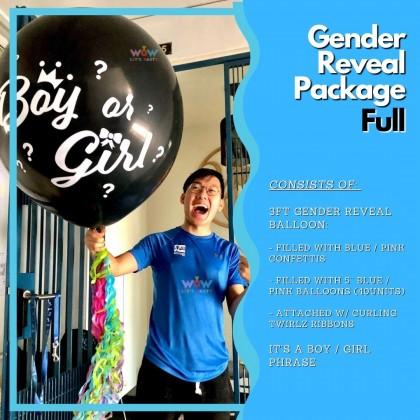 Gender Reveal Package