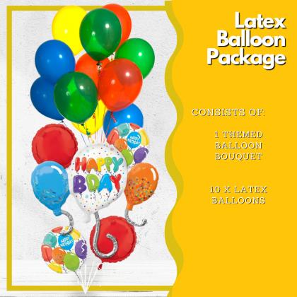 Latex Balloon Package