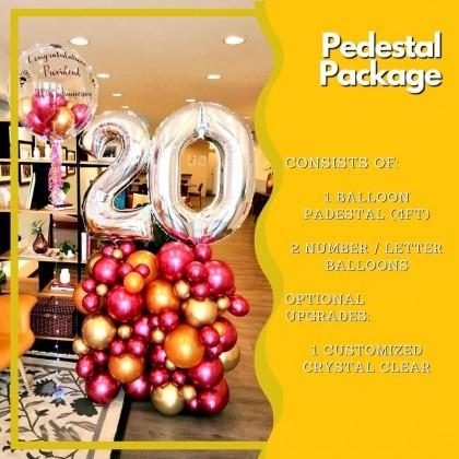Pedestal Package - 4ft