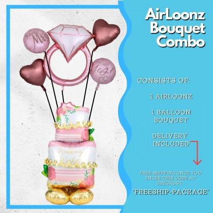 AirLoonz Bouquet Combo