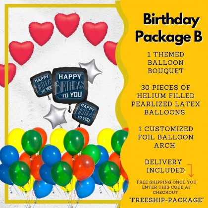 Birthday Package B