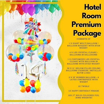 Hotel Room Premium Package
