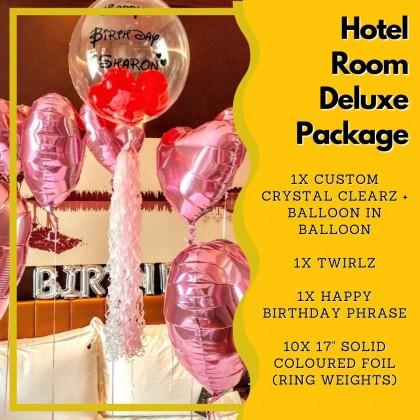 Hotel Room Deluxe Package
