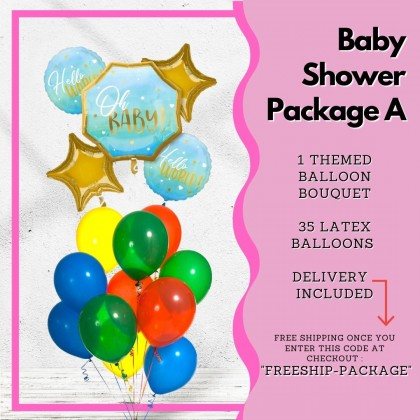 Baby Shower Balloon Package