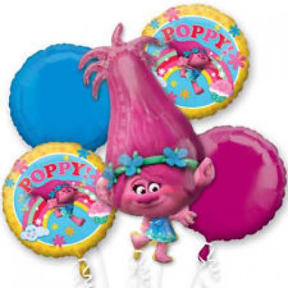 P75 Trolls Poppy Bouquet
