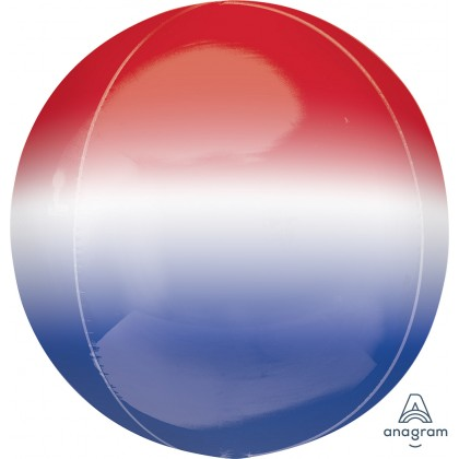 """G20 15"""" ORBZ OMBRE RED, WHITE & BLUE"""