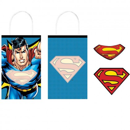 Justice League Heroes Unite Create Your Own Bag - Paper w/Add-Ons