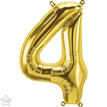 "NS 16"" (GOLD) Mini Foil Number 4"