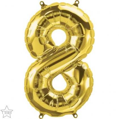 "NS 16"" (GOLD) Mini Foil Number 8"