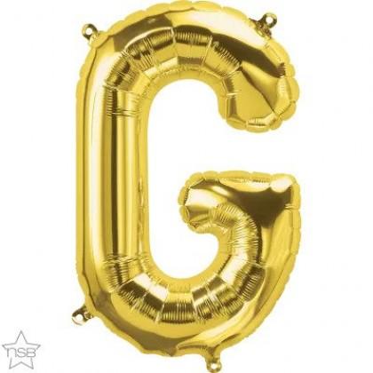 "NS 16"" (GOLD) Mini Foil Letter G"