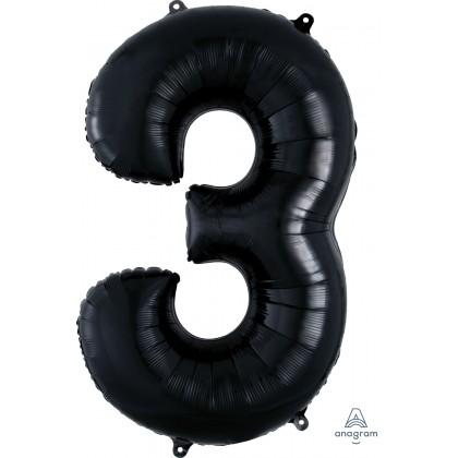 "P50 34"" (BLACK) Number 3 SuperShape™"
