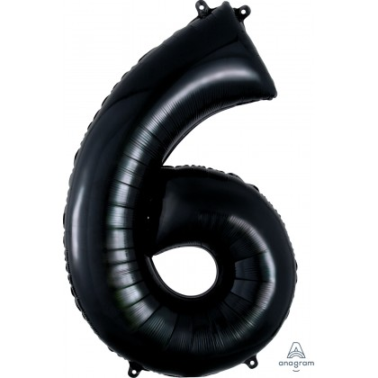 "P50 34"" (BLACK) Number 6 SuperShape™"