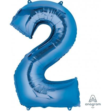 """P50 33"""" (BLUE) Number 2 SuperShape™"""