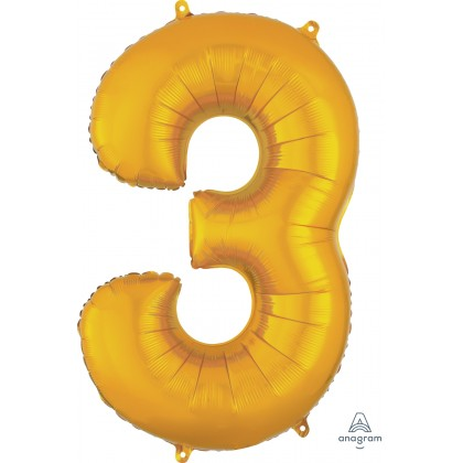"P50 34"" (GOLD) Number 3 SuperShape™"