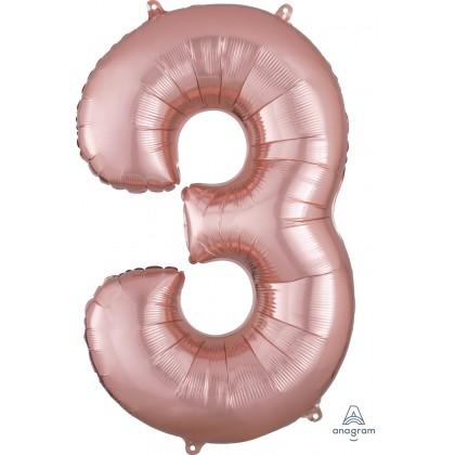 """P50 34"""" (ROSE GOLD) Number 3 SuperShape™"""