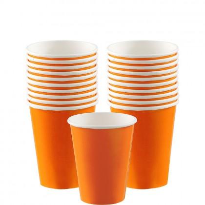Paper Cup 9oz Orange Peel