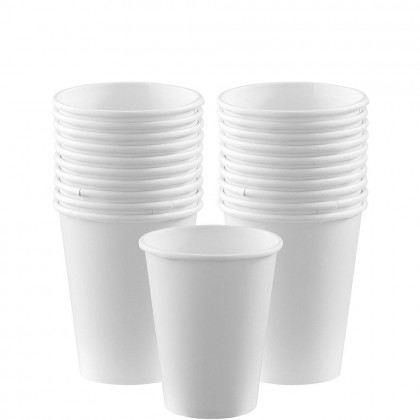 Paper Cup 9oz Frosty White
