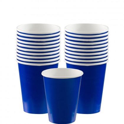 Paper Cup 9oz Bright Royal Blue