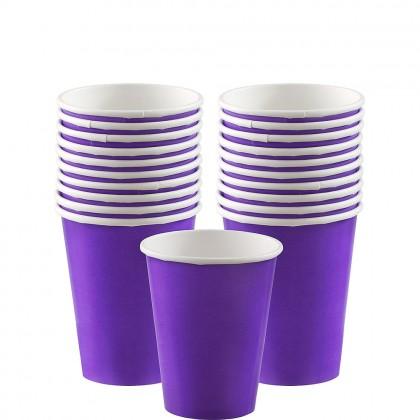 Paper Cup 9oz New Purple