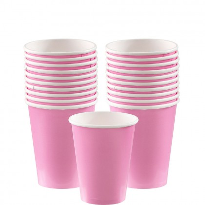 Paper Cup 9oz New Pink