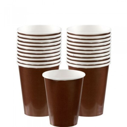 Paper Cup 9oz Chocolate Brown