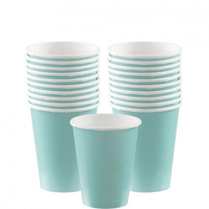 Paper Cup 9oz Robin Egg Blue