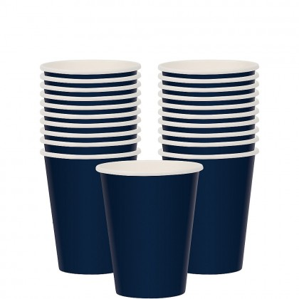 Paper Cup 9oz True Navy