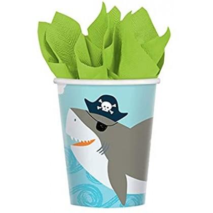 Ahoy Birthday Cups, 9 oz