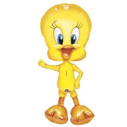 """P75 37"""" Tweety AirWalkers® Foil Balloon"""