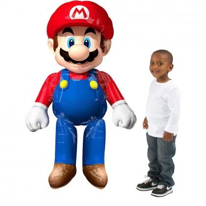 "P93 60"" Mario Bros. AirWalkers® Foil Balloon"