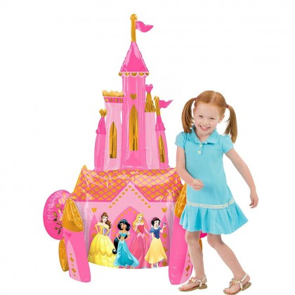 """P93 48"""" Princess Once Upon A Time AirWalkers® Foil Balloon"""