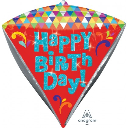 "G20 15"" HBD Let's Party UltraShape™ Diamondz™"