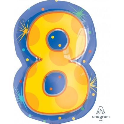 """S60 20"""" 8 Confetti Dots Junior Shape XL®"""
