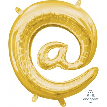 "L16 16"" (GOLD) Mini Foil Symbol @"