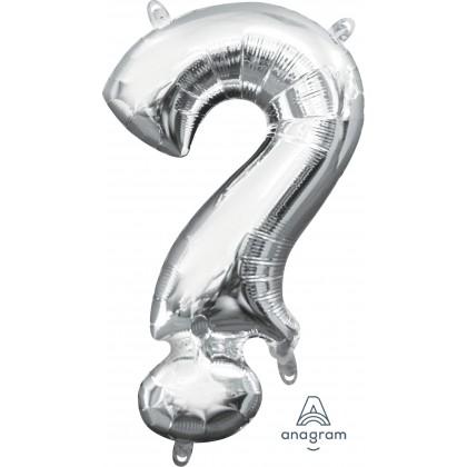 """L16 16"""" (SILVER) Mini Foil Symbol ?"""