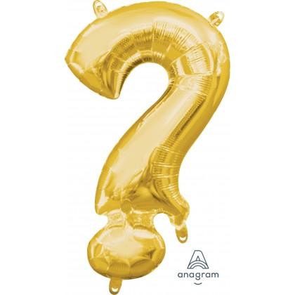 "L16 16"" (GOLD) Mini Foil Symbol ?"