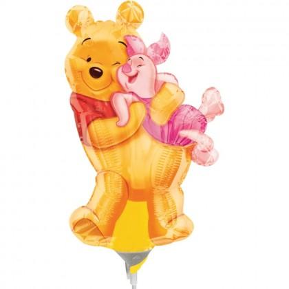 """A30 14"""" Mini-Shape Pooh & Piglet"""