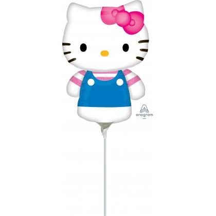 """A30 14"""" Mini-Shape Hello Kitty Summer Fan"""