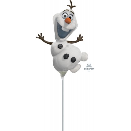 "A30 14"" Olaf Shape Mini Shape Foil Balloon"