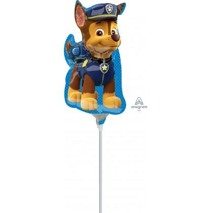 """A30 14"""" Paw Patrol - Chase Mini Shape Foil Balloon"""