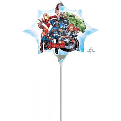 """A30 14"""" Avengers Mini Shape Foil Balloon"""