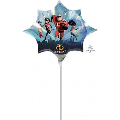 "A30 14"" Incredibles Mini Shape Foil Balloon"